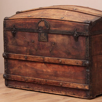 Old Travel Trunks