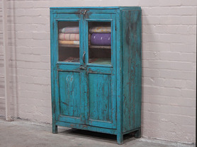 Old Blue Armoire